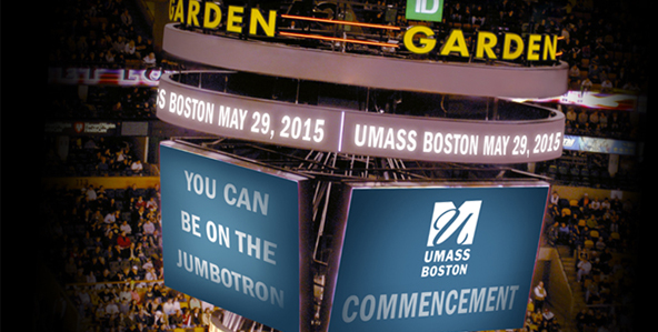 Class of 2015: $15 for 10 second video on the TD Garden Jumbotron
