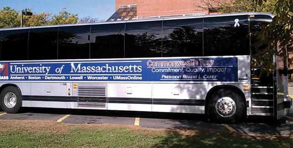 UMass Boston on the Move: President Caret's Commonwealth Tour