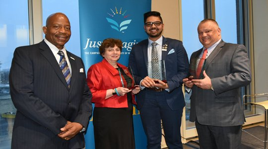 Doors to Distinction: Three Leaders Honored