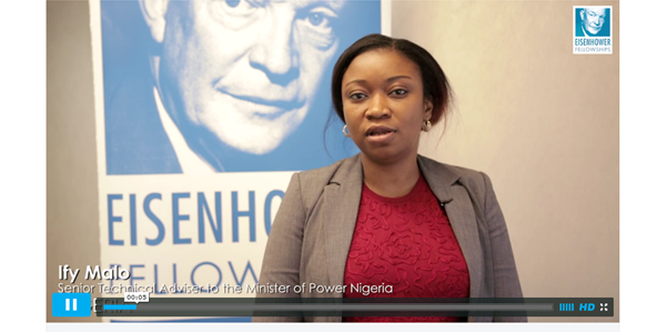 Eisenhower Fellowship Helps Ify Malo '11 Address Rural Poverty