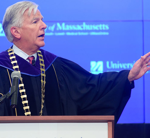 Marty Meehan inaugurated as 27th president of the University of Massachusetts