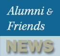 Latest Alumni and Friends News