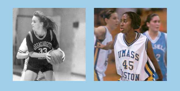 UMass Boston Alumnae Inducted into New England Basketball Hall of Fame