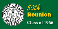 50th Reunion Logo - Class of 1966