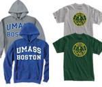 UMass Boston sweat shirts